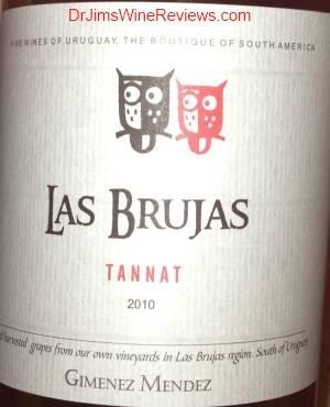 Las Brujas Tannat 2010