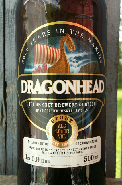 Dragon Head stout Stromness