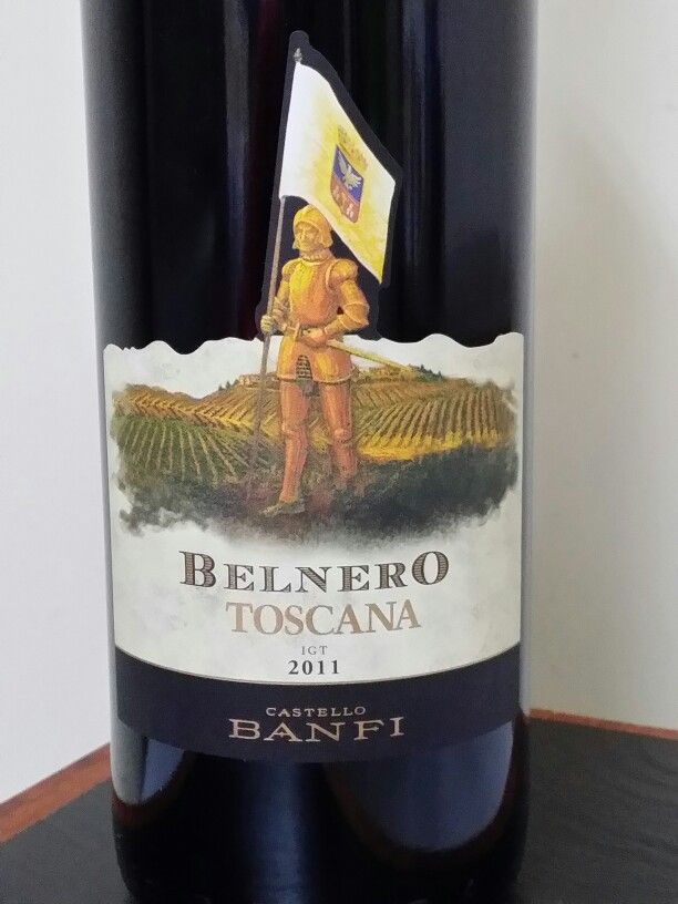 Belnero Toscana 2011 Italy Castello Banfi