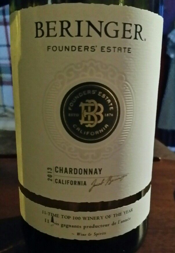 Beringer Founders Estate 2013 Chardonnay