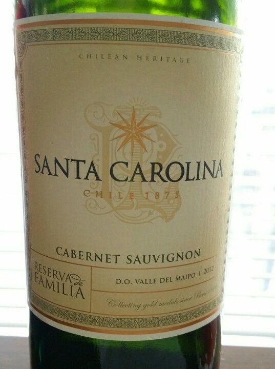 Santa Carolina Cabernet Sauvignon - Valle Del Maipo 2012 - Chilean Heritage