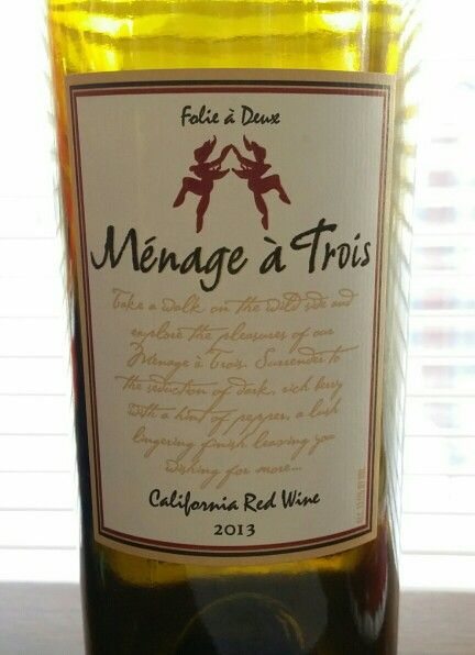 menage a trois california red wine 2013