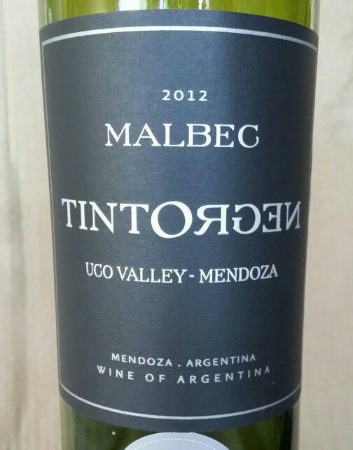 2012 Malbec Mendoza argentina Tintorgen