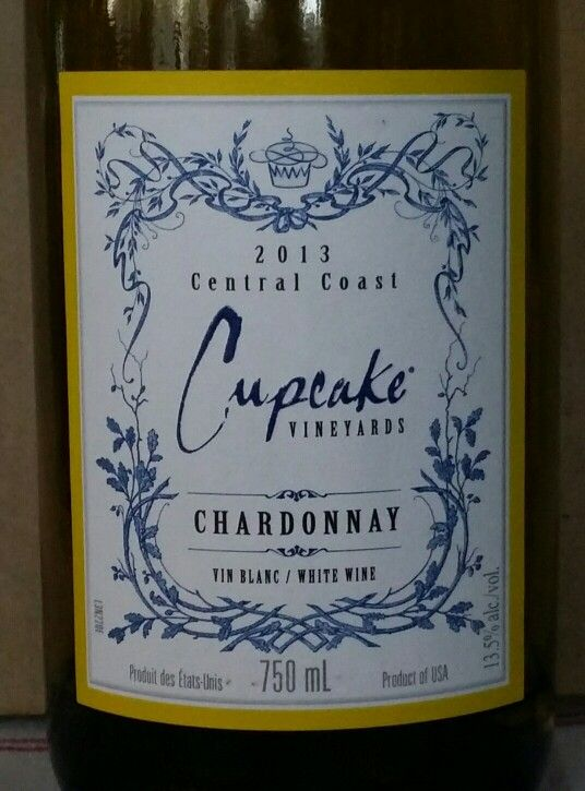 Cupcake Chardonnay 2013 Central Coast USA