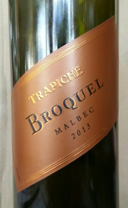 Trapiche Broquel Malbec 2013 Mendoza Argentina