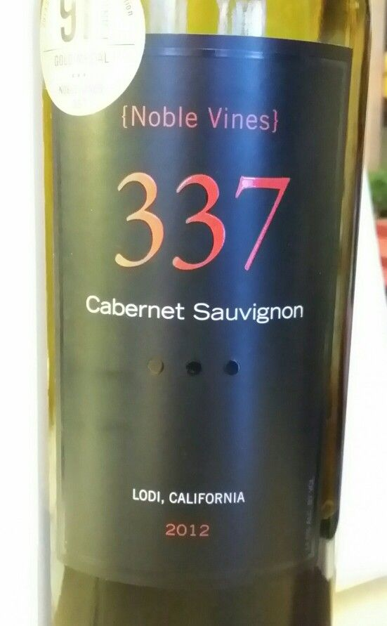Noble Wines 337 Cab Suavignon