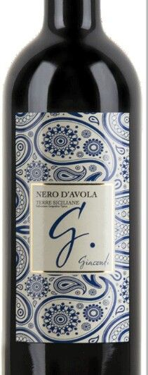 Giacondi G Nero DAvola Sicily Italy